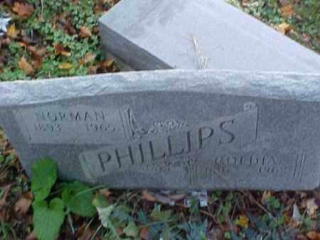 PHILLIPS, NORMAN - Meigs County, Ohio | NORMAN PHILLIPS - Ohio Gravestone Photos