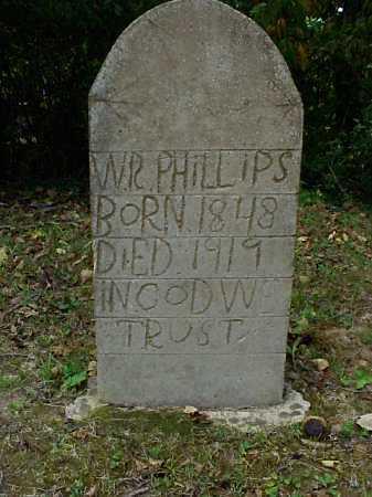 PHILLIPS, W.R. - Meigs County, Ohio | W.R. PHILLIPS - Ohio Gravestone Photos