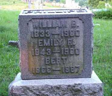 PHILLIPS, EMILY R. - Meigs County, Ohio | EMILY R. PHILLIPS - Ohio Gravestone Photos