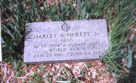 PICKET, HARLEY B. JR. - Meigs County, Ohio | HARLEY B. JR. PICKET - Ohio Gravestone Photos