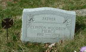 PIERCE, CLINTON WOODROW - Meigs County, Ohio   CLINTON WOODROW PIERCE - Ohio Gravestone Photos
