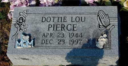 PIERCE, DOTTIE LOU - Meigs County, Ohio   DOTTIE LOU PIERCE - Ohio Gravestone Photos
