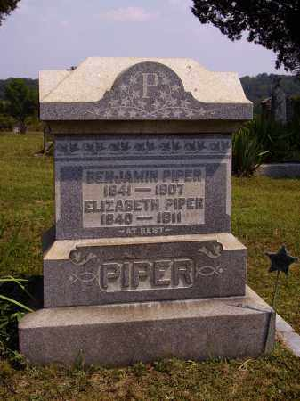 GEAR PIPER, ELIZABETH - Meigs County, Ohio | ELIZABETH GEAR PIPER - Ohio Gravestone Photos