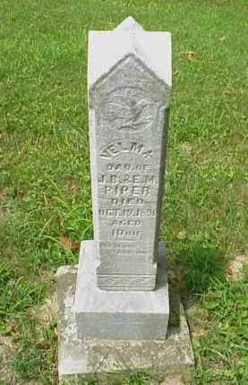 PIPER, VELMA - Meigs County, Ohio | VELMA PIPER - Ohio Gravestone Photos