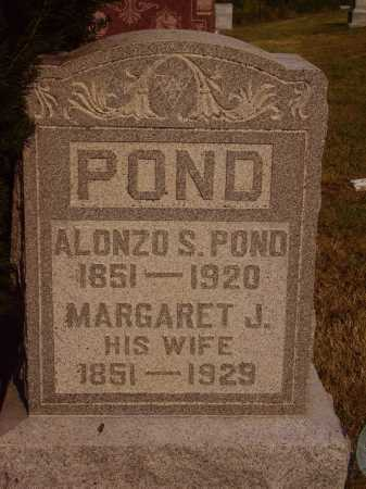 HARKINS POND, MARGARET J. - Meigs County, Ohio | MARGARET J. HARKINS POND - Ohio Gravestone Photos
