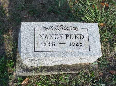 POND, NANCY (NETTIE) ANNISE - Meigs County, Ohio   NANCY (NETTIE) ANNISE POND - Ohio Gravestone Photos
