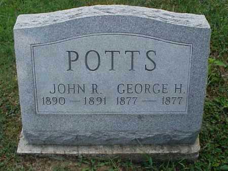 POTTS, GEORGE H. - Meigs County, Ohio | GEORGE H. POTTS - Ohio Gravestone Photos