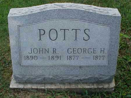 POTTS, JOHN R. - Meigs County, Ohio   JOHN R. POTTS - Ohio Gravestone Photos