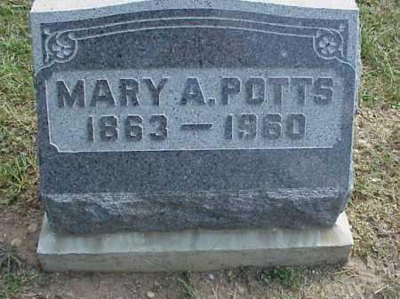 POTTS, MARY A. - Meigs County, Ohio   MARY A. POTTS - Ohio Gravestone Photos