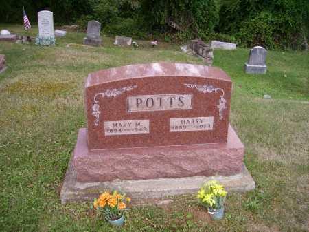 POTTS, MARY - Meigs County, Ohio   MARY POTTS - Ohio Gravestone Photos