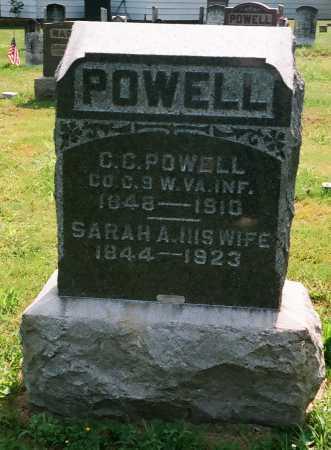 POWELL, CHRISTOPHER C. - Meigs County, Ohio | CHRISTOPHER C. POWELL - Ohio Gravestone Photos