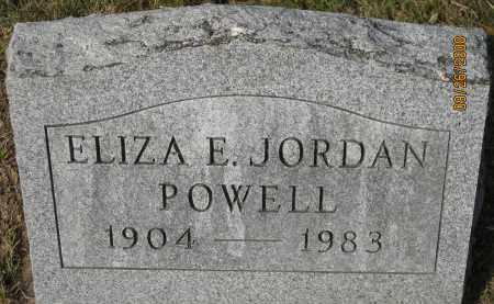 POWELL, ELIZA E. - Meigs County, Ohio   ELIZA E. POWELL - Ohio Gravestone Photos