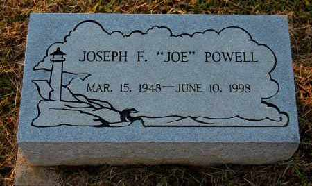 POWELL, JOSEPH F - Meigs County, Ohio | JOSEPH F POWELL - Ohio Gravestone Photos