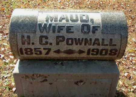 POWNALL, MAUD - Meigs County, Ohio | MAUD POWNALL - Ohio Gravestone Photos