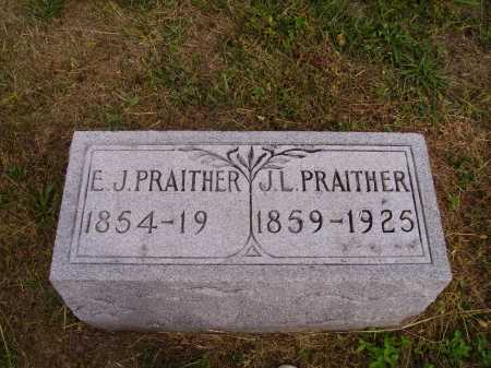 PRAITHER, ELEANOR J. - Meigs County, Ohio | ELEANOR J. PRAITHER - Ohio Gravestone Photos
