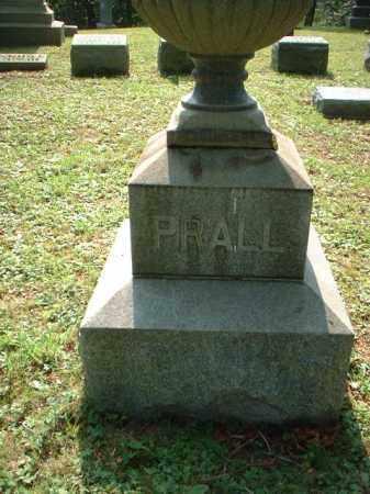 PRALL, MONUMENT - Meigs County, Ohio | MONUMENT PRALL - Ohio Gravestone Photos