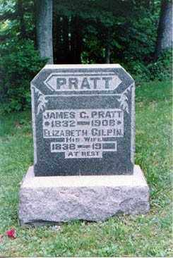 PRATT, JAMES - Meigs County, Ohio | JAMES PRATT - Ohio Gravestone Photos