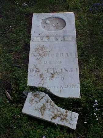 PRATT, MARY M. - Meigs County, Ohio | MARY M. PRATT - Ohio Gravestone Photos