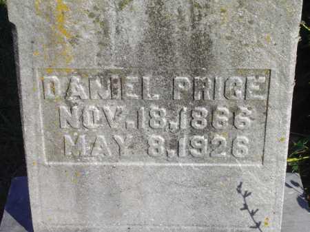 PRICE, DANIEL - Meigs County, Ohio | DANIEL PRICE - Ohio Gravestone Photos