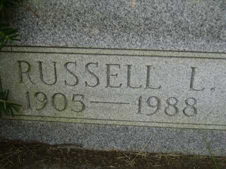 PRIDDY, RUSSELL L. - Meigs County, Ohio | RUSSELL L. PRIDDY - Ohio Gravestone Photos