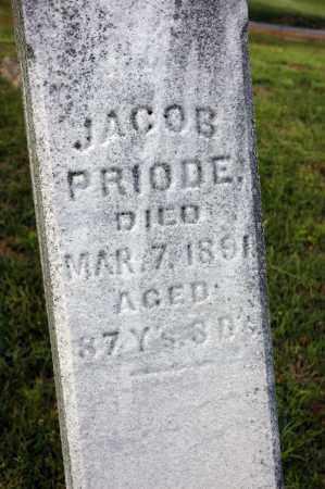 PRIODE, JACOB - Meigs County, Ohio | JACOB PRIODE - Ohio Gravestone Photos