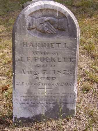 PUCKETT, HARRIET I. - Meigs County, Ohio   HARRIET I. PUCKETT - Ohio Gravestone Photos
