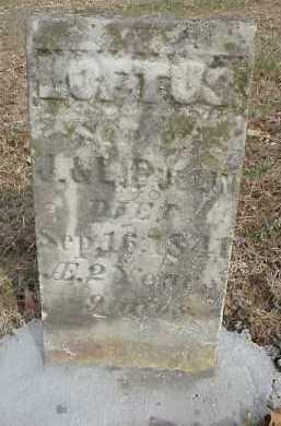 PULLIN, LOFTUS - Meigs County, Ohio | LOFTUS PULLIN - Ohio Gravestone Photos