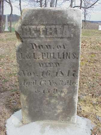 PULLINS, BETHIA - Meigs County, Ohio | BETHIA PULLINS - Ohio Gravestone Photos