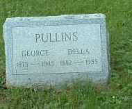 PULLINS, GEORGE - Meigs County, Ohio | GEORGE PULLINS - Ohio Gravestone Photos
