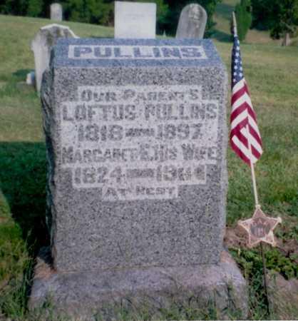 PULLINS, MARGARET E. - Meigs County, Ohio   MARGARET E. PULLINS - Ohio Gravestone Photos