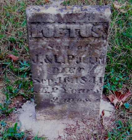 PULLINS, LOFTUS - Meigs County, Ohio | LOFTUS PULLINS - Ohio Gravestone Photos