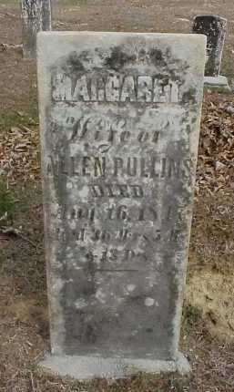 PULLINS, MARGARET - Meigs County, Ohio | MARGARET PULLINS - Ohio Gravestone Photos