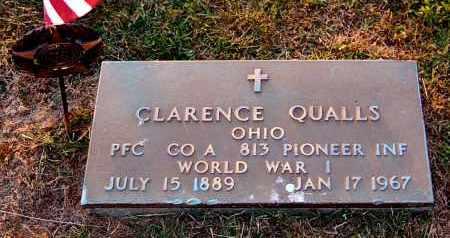 QUALLS, CLARENCE - Meigs County, Ohio | CLARENCE QUALLS - Ohio Gravestone Photos