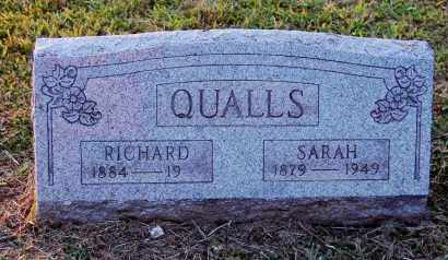 QUALLS, RICHARD - Meigs County, Ohio | RICHARD QUALLS - Ohio Gravestone Photos