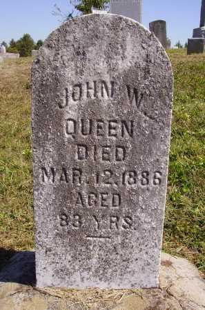 QUEEN, JOHN W. - Meigs County, Ohio   JOHN W. QUEEN - Ohio Gravestone Photos