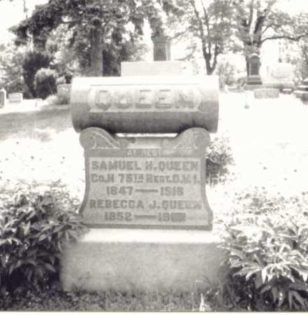 QUEEN, SAMUEL H. - Meigs County, Ohio | SAMUEL H. QUEEN - Ohio Gravestone Photos