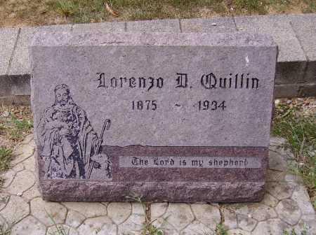 QUILLIN, LORENZO D. - Meigs County, Ohio | LORENZO D. QUILLIN - Ohio Gravestone Photos