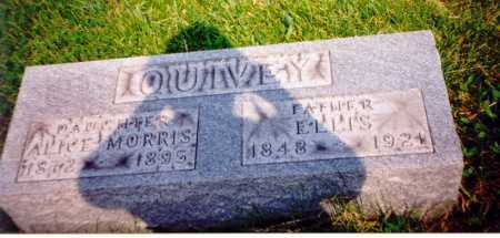 QUIVEY, ELLIS - Meigs County, Ohio | ELLIS QUIVEY - Ohio Gravestone Photos