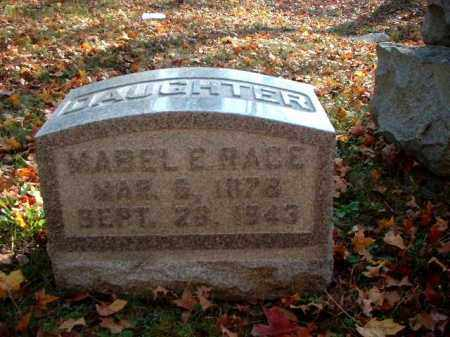 RACE, MABEL E. - Meigs County, Ohio | MABEL E. RACE - Ohio Gravestone Photos