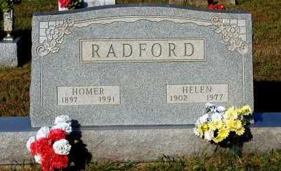 RADFORD, HOMER - Meigs County, Ohio | HOMER RADFORD - Ohio Gravestone Photos