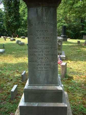 RADFORD, NANCY - Meigs County, Ohio   NANCY RADFORD - Ohio Gravestone Photos