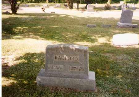 "RADFORD, JAMES ""BUD"" - Meigs County, Ohio | JAMES ""BUD"" RADFORD - Ohio Gravestone Photos"
