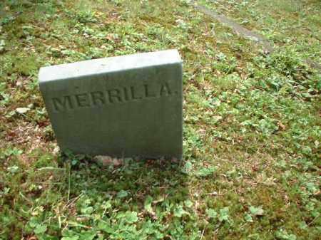 RADFORD, MERRILLA - Meigs County, Ohio | MERRILLA RADFORD - Ohio Gravestone Photos