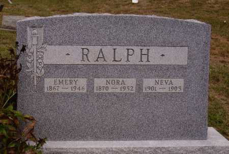 MC KNIGHT RALPH, NORA - Meigs County, Ohio | NORA MC KNIGHT RALPH - Ohio Gravestone Photos