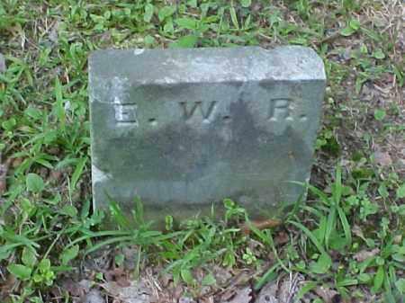 RALSTON, E. W. R. - Meigs County, Ohio | E. W. R. RALSTON - Ohio Gravestone Photos
