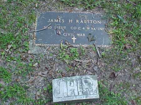 RALSTON, JAMES H. - Meigs County, Ohio | JAMES H. RALSTON - Ohio Gravestone Photos