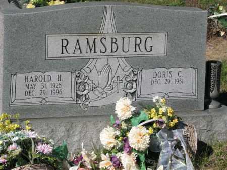 RAMSBURG, DORIS C. - Meigs County, Ohio | DORIS C. RAMSBURG - Ohio Gravestone Photos
