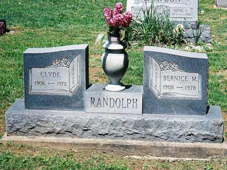 RANDOLPH, BERNICE M. - Meigs County, Ohio | BERNICE M. RANDOLPH - Ohio Gravestone Photos