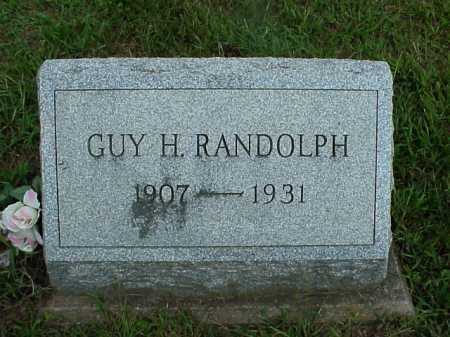 RANDOLPH, GUY - Meigs County, Ohio | GUY RANDOLPH - Ohio Gravestone Photos