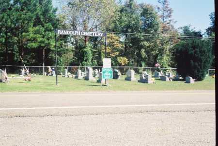 RANDOLPH OVERVIEW - #5, CEMETERY - Meigs County, Ohio   CEMETERY RANDOLPH OVERVIEW - #5 - Ohio Gravestone Photos
